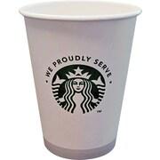 Starbucks ® Paper Hot Cup, 12 oz., White/Green, 1000/Carton