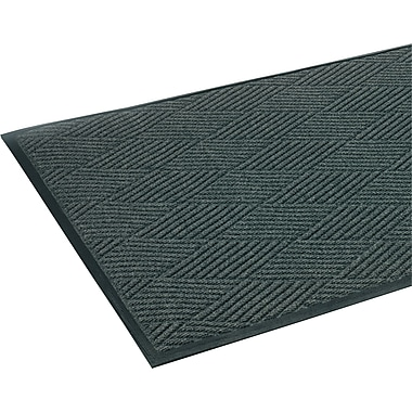 Crown Super-Soaker™ Polypropylene Diamond Wiper/Scraper Mat, 69in.L x 45in.W, Slate