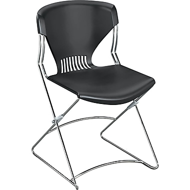 HON® Olson Flex Stacker® Polymer Chair Without Arms, Lava