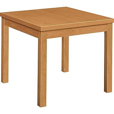 HON® Laminate Occasional Table, Harvest, 24in.D