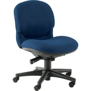 HON ® Sensible Seating ® Mid Back Tectonic 100% Polyester Swivel Chair Without Arms, Mariner