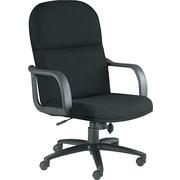 Mayline ® Big And Tall Executive Swivel/Tilt Acrylic Chair With Polyurethane Arms, Black
