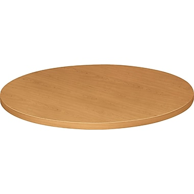 HON® Self-Edge 36in.(Dia) Round Hospitality Table Top, Harvest