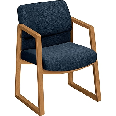 HON  2400 100% Olefin Guest Arm Chair, Blue