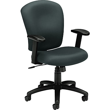 basyx® by Hon VL220 Mid Back Task Chair, Charcoal