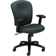 basyx by HON HVL220 Mid-Back Task/Computer Chair for Office and Computer Desks, Charcoal