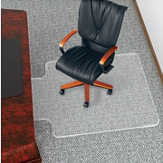 """deflect-o® UltraMat™ Vinyl Chair Mat, Clear, 53""""L x 45""""W"""