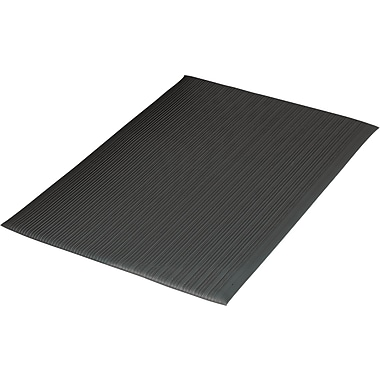 Guardian Air Step Polypropylene Anti-Fatigue Mat, 36in.L x 24in.W, Black