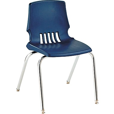 HON  Proficiency  Poly Stackable Student Shell Chair, Navy