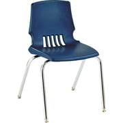 HON® Proficiency® Poly Stackable Student Shell Chair, Navy
