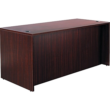 Alera® Valencia Woodgrain Laminate Straight Front Desk Shell, 29 1/2