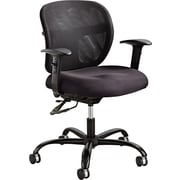 Safco® Vue™ Intensive Use Mesh Polyester Task Chair, Black