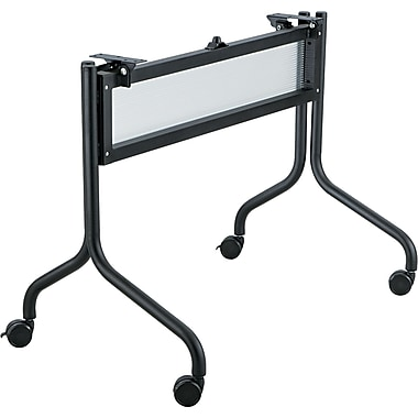 Safco® Impromptu™ Mobile Training Table Base, Black