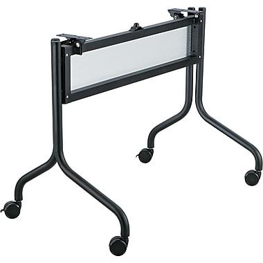 Safco® Impromptu™ Mobile Training Table Base, Black