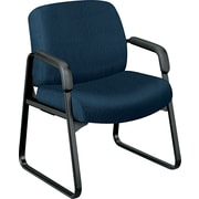HON ® 3500 Pyramid ® 24-Hour Tectonic 100% Polyester Guest Arm Chair, Mariner