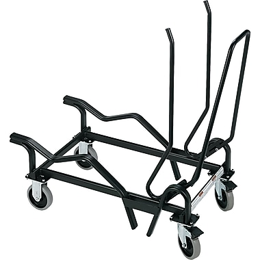 HON ® Olson Flex Stacker Series Black Steel Cart, 38 5/8in.H x 19 3/8in.W x 38 7/8in.D