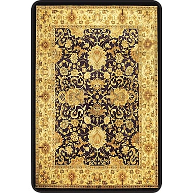 deflect-o Harbour Pointe™ Decorative Chair Mat, Meridian Floral, 60in.L x 46in.W