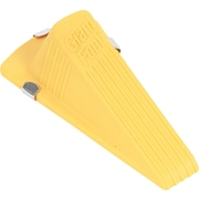 "Master Caster ® Giant Foot ® Wedge Style Magnetic Doorstop, 2""H x 3 1/2""W x 6 3/4""D, Yellow"