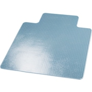 "deflect-o® SuperMat™ Chair Mat For Medium Pile Carpet, Clear, 53""L x 45""W"