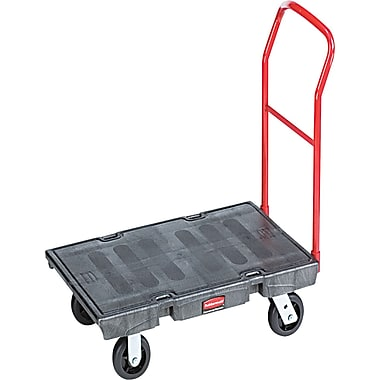 Rubbermaid ® Commercial Heavy-Duty Steel Platform Truck Cart, 1000 lbs.