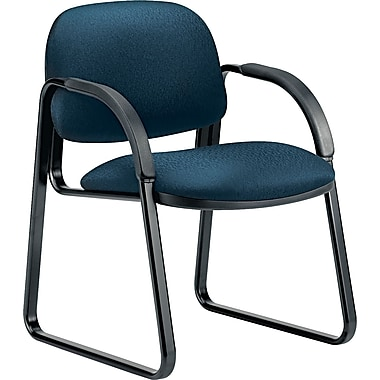 HON®  Sensible Seating® Tectonic 100% Polyester Guest Arm Chair, Mariner
