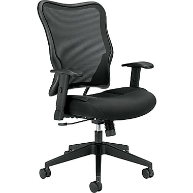 basyx by HON HVL702 Executive/Office Chair for Office and Computer Desks, Black