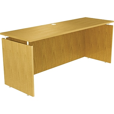 Alera® SedinaAG Woodgrain Laminate Top Credenza Shell, 72in.W, Maple