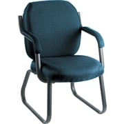 Global Commerce 100% Polypropylene Guest Arm Chair, Ocean Blue