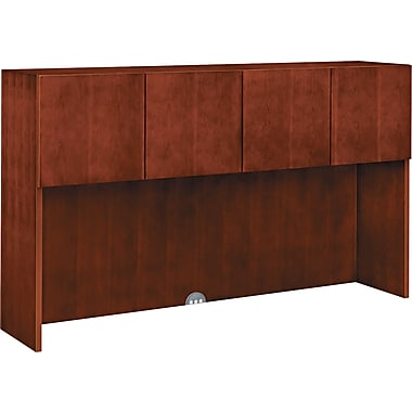 HON  Arrive Wood Veneer Stack-On Storage, 42in.H x 71 7/8in.W x 15 7/8in.D, Henna Cherry