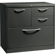 HON® Flagship® 18D 4 Drawer File Center With Box/Box/File/Lateral File Drawer, Charcoal