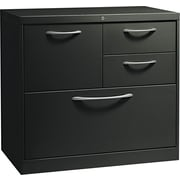 HON® Flagship® 18D 4 Drawer File Center With Box/Box/File/Lateral File Drawer, Black