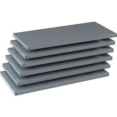 Tennsco Steel Industrial Shelving, 6 Shelves, 18