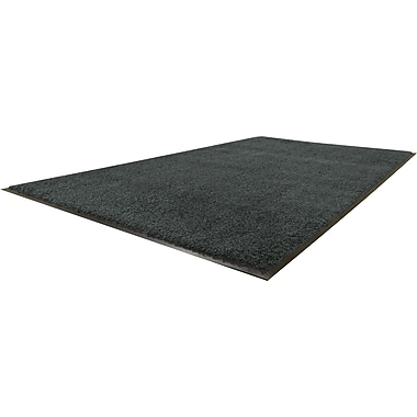 Guardian Platinum Nylon/Polypropylene Walk-Off Indoor Wiper Mat, 60in.L x 36in.W, Black