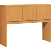 HON 10500 Series 3-Door Stack-On Hutch for use with 10500 Series Office or Computer Desks, Harvest