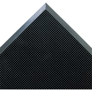 "Crown Mat-A-Dor™ Rubber Entrance/Scraper Mat, 32""L x 24""W, Black"