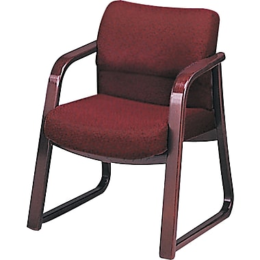 HON ® 2900 100% Olefin Guest Arm Chair, Burgundy