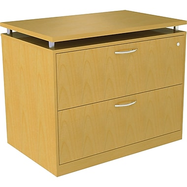 Alera® SedinaAG 22in.D 2 Drawer Lateral File, Maple