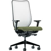 HON® HONN102NR74 Nucleus® Fabric Mesh Back Office Chair with Adjustable Arms, Clover