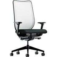 HON® Nucleus® 100% Polyester Work Chair, Black/Fog