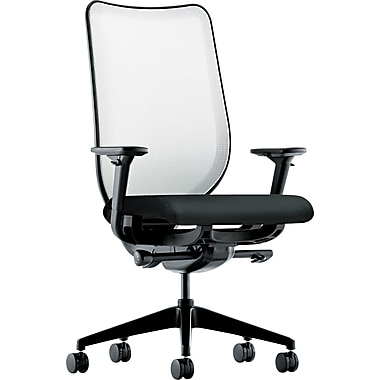 HON® Nucleus® 100% Polyester Work Chair, Black/Fog