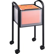 "Safco® Impromptu™ 19""D Open File Cart, Black"