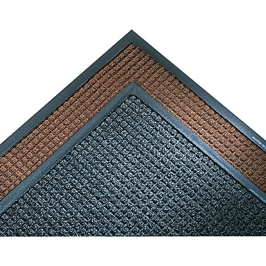 Crown Super-Soaker™ Polypropylene Wiper/Scraper Mat, 119in.L x 34in.W, Dark Brown
