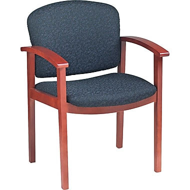 HON® 2111 Invitation® Reception 49% Acrylic/51% Polyester Guest Chair, Raven