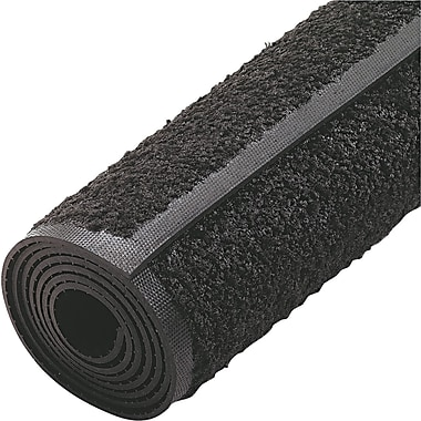Guardian Platinum Nylon/Polypropylene Walk-Off Indoor Wiper Mat, 72in.L x 48in.W, Black