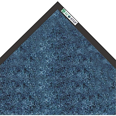 Crown EcoStep™ Wiper Mat, 72in.L x 48in.W, Midnight Blue