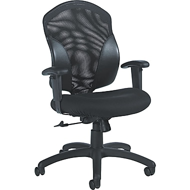 Global 19514550JN02 Mid-Back Office Chair, Black