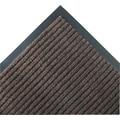 Crown Needle-Rib™ Polypropylene Wiper/Scraper Mat, 120in. x 36in., Brown