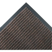 "Crown Needle-Rib™ Polypropylene Wiper/Scraper Mat, 120"" x 36"", Brown"