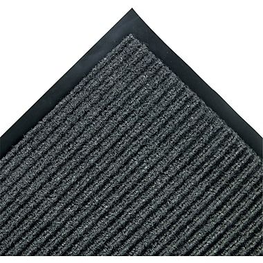 Crown Needle-Rib Polypropylene Wiper/Scraper Mat, 120in.L x 36in.W, Gray