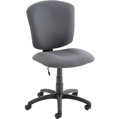 Global Supra X 100% Polypropylene Mid Back Task Chair, Stone